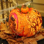 This was the winning pumpkin! Fun Fact: this was carved by one of our maintenance guys!