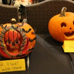Tie for second (left), and a classic jack-o-lantern!