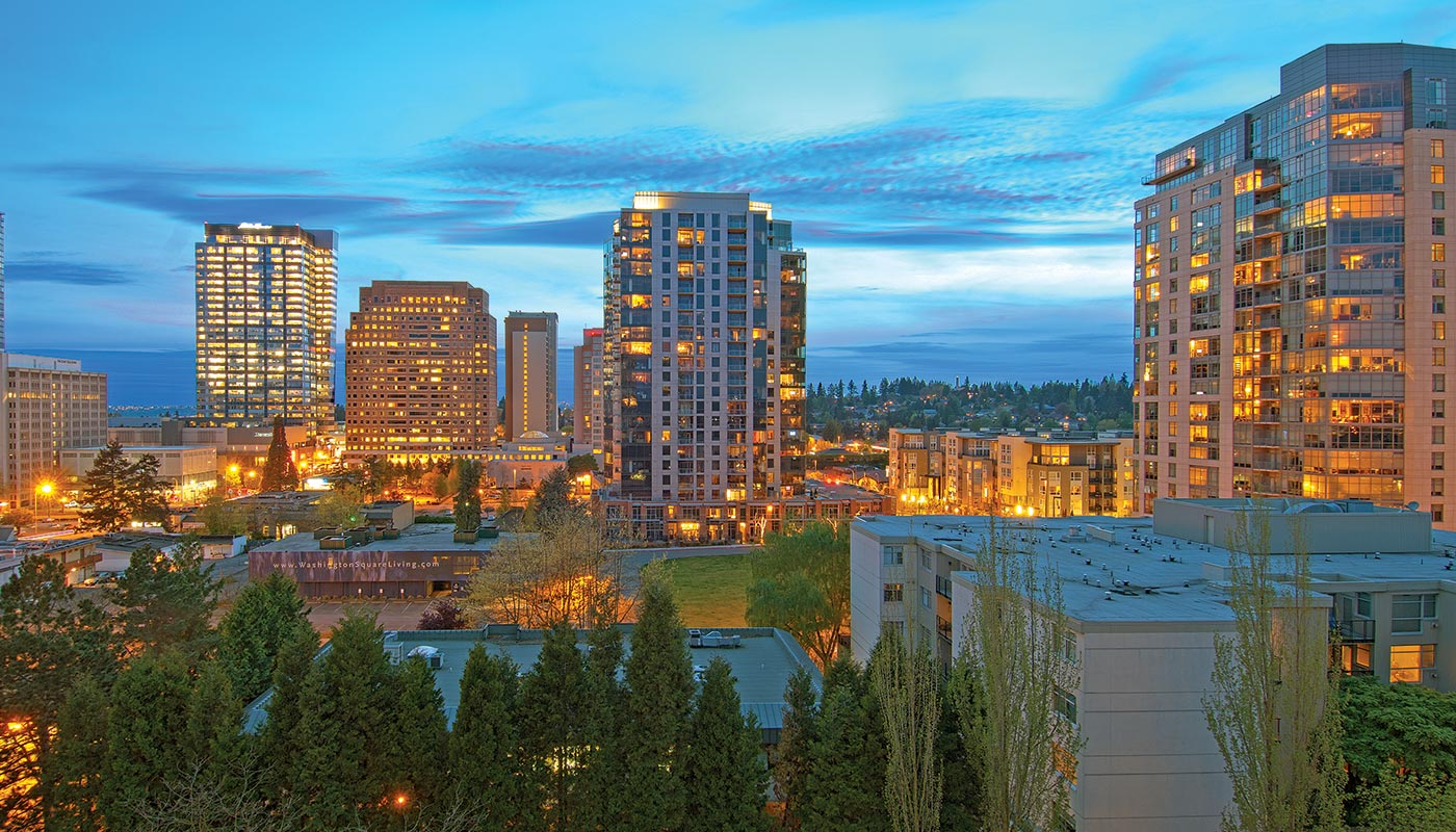 Charming Contemporary Downtown Bellevue Living