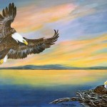Nancy Hueter, Golden Eagle or Solitude