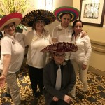 Our staff had as much fun with the hats as the residents did!