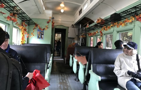 Halloween Train Ride