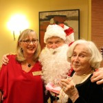 Debbie Goeppele, our Wellness Nurse, got in on the holiday magic!