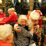 Some of our residents were VERY excited about Santa!!!