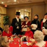 Finishing the evening with carolers at dinner was a beautiful, quiet, serene way to end the evening.