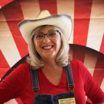 Debbie Goeppele, our beloved Wellness Nurse, even got in on the yeehaw action!