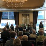 After performing upstairs for the Skilled Nursing residents, Tara Academy wowed the audience of Independent Living residents. We even ran out of seats! (The dancers had 5 shows on this day and were going nonstop, morning to night, for the days leading up to the big Irish holiday!)