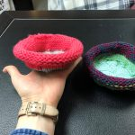 Bright colors on these two made by Jean!