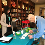 Dick signs up for some emails and free goodies from EvergreenHealth!