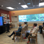 A local acupuncturist gives an informative and interactive seminar on 10 ways natural medicine can slow the aging process!