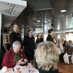 The river cruise staff sang to us at departure and arrival - it was adorable!
