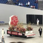 The Rose Festival Tribute Float honoring Rosarians who did not make it through 2018. Very touching.